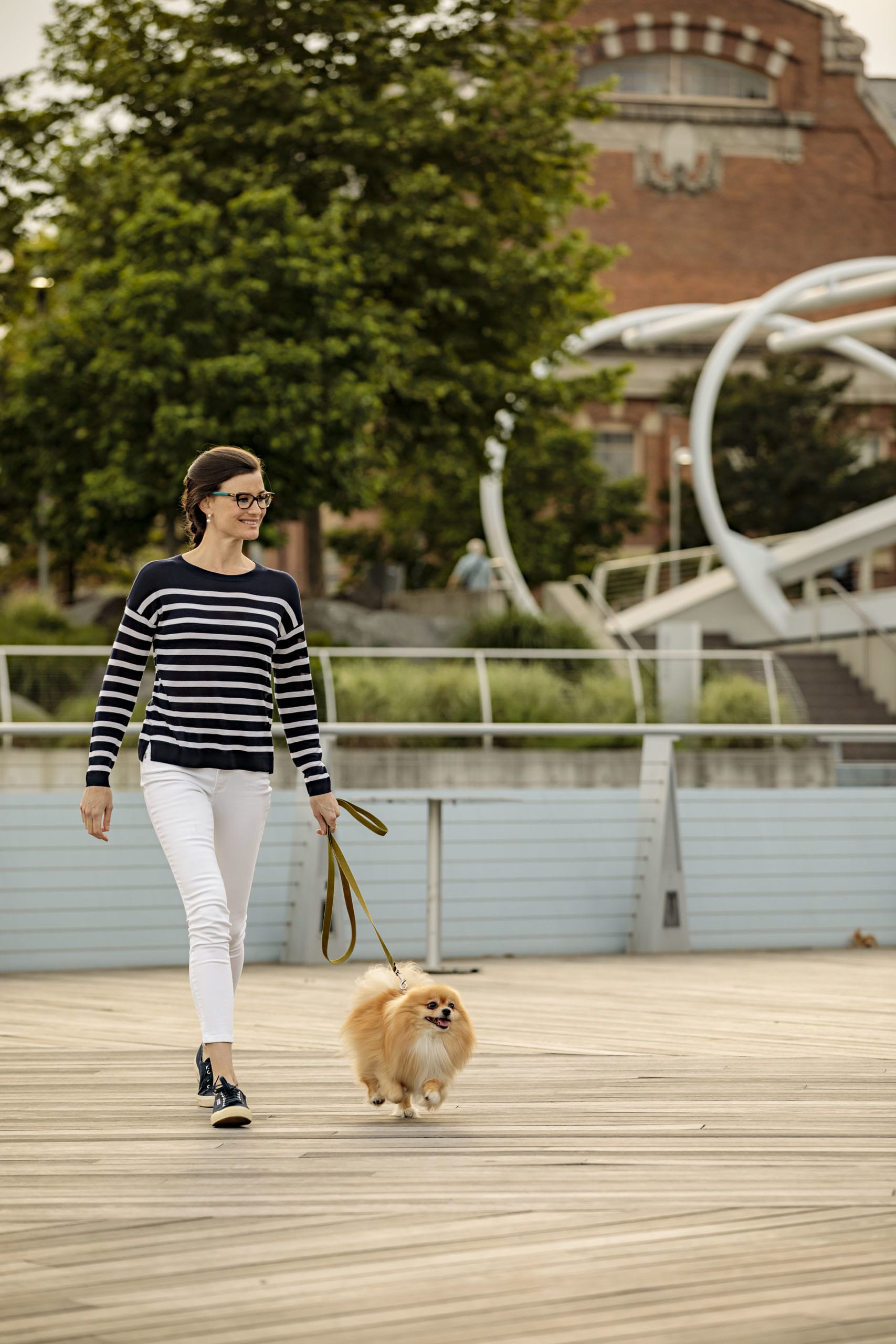 Enjoy Yards Park with its landscaped boardwalk, a splash park and dog run